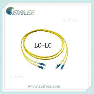 LC-LC Duplex 2mm Fibre Optical Patchcord Cable pictures & photos