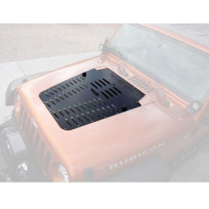 Lantsun Poison Spider Hood Louver for Jeep Wrangler Jk pictures & photos