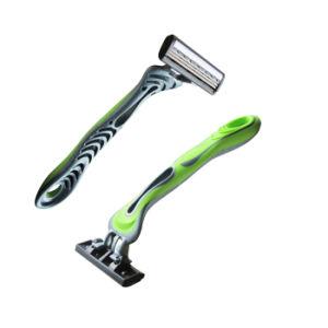 Three Blade Disposable Razor Shaving Razor Blade Shaver pictures & photos
