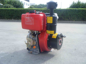 10HP Air Cooled Single Cylinder Diesel Engine, 188F pictures & photos
