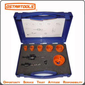Electricians Tool Kit 13PCS Hole Saw Set pictures & photos