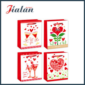 """Just for You"" Valentine′s Day Fashion Shopping Gift Paper Bag pictures & photos"