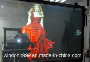Adhesive Rear Projection Screen Film / 3D Hologram Display Film pictures & photos