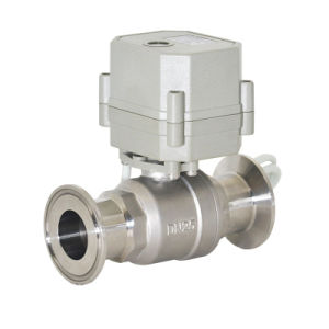 "1"" AC110V-240V Stainless Steel Electric Sanitary Clamp Direct Ball Valve pictures & photos"