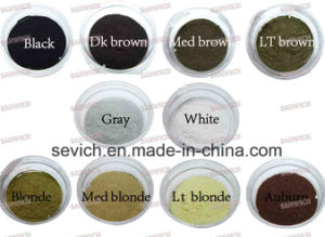 Powder Type Keratin Hair Thickening Hair Building Fibers Wholesale pictures & photos