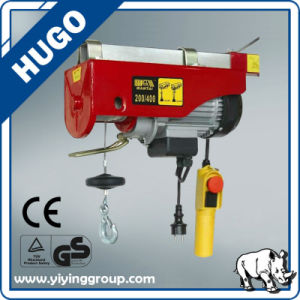 Hugong Low Price Mini Electric Wire Rope Hoist Cable Winch Hoist pictures & photos