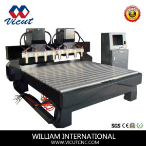 8 Spindle CNC Router CNC Engaver Machine (VCT-2125W-8H) pictures & photos