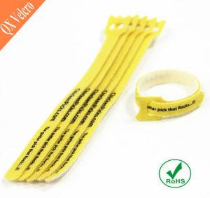 Custom Reusable Nylon Hook & Loop Cord Ties pictures & photos