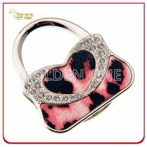 Novelty Design Handbag Shape Metal Folding Bag Hook pictures & photos