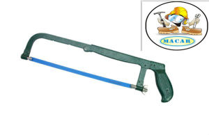 Steel Hacksaw Blade, Locking Hacksaw Frame, Safety Hand Saw for Wood