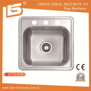 304 Stainless Steel Single Bowl Kitchen Sink pictures & photos