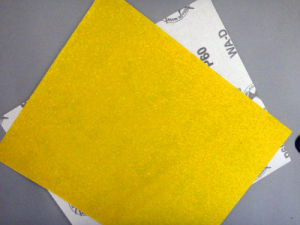Aluminum Oxide D-Wt Craft Paper for Wood Polishing W-D 60# pictures & photos