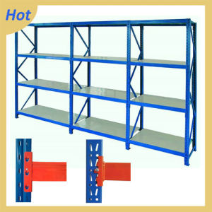 4 Tiers Medium-Duty Adjustable Metal Warehouse Rack System pictures & photos