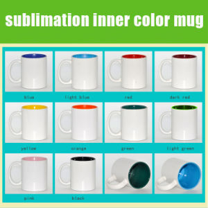 DIY Color Changing Coated Sublimation Ceramic Mug pictures & photos