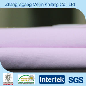 Knit Purple Cotton Type Nylon Spandex Fabric for Sportswear (MJ5040)