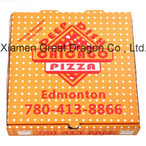 Locking Corners Pizza Box for Stability and Durability (PPB103) pictures & photos