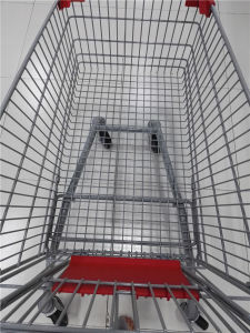 Best Online European Supermarket Shopping Trolley with Baby Seat pictures & photos