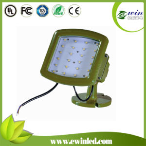 IP68 185W Atex UL844 Class I Div II Gas Station LED Canopy Light Fixture pictures & photos