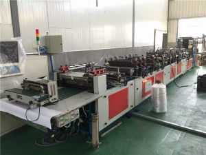 Used Non Woven Bag and Plasitc Bag Bottom Forming Machine for Sales pictures & photos