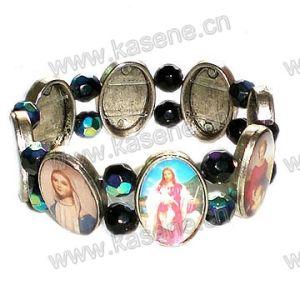Metal Alloy Saints Rosary Bracelet pictures & photos
