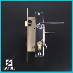 5458 High Standard Euro Type Security Door Handle Lock pictures & photos
