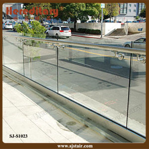 High Quality Modern Frameless Glass Aluminium Balcony Railing (SJ-S1023) pictures & photos