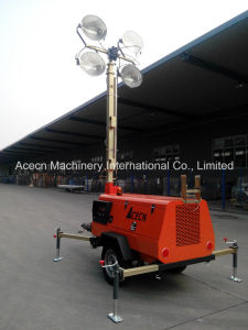 Diesel Mobile Lighting Tower 9m 4000W