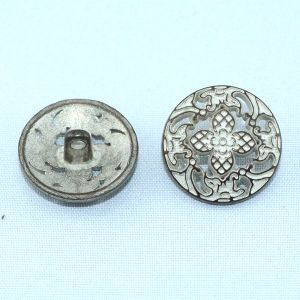 Hollow out Design Zinc Alloy Metal Button for Garment Accessory pictures & photos
