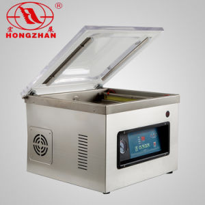 Concave Board Single Chamber Vacuum Packing Machine with Gas Flush pictures & photos