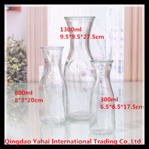 800ml Wide Mouth Beverage Glass Storage Bottle pictures & photos