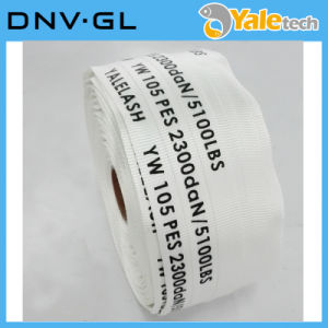 Dnv. Gl Certified Polyester Woven Webbing Strap pictures & photos