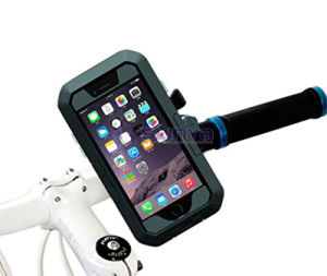 360 Degree Rotating Home Button Operable Handlebar Mobile Phone Bicycle Waterproof Case pictures & photos