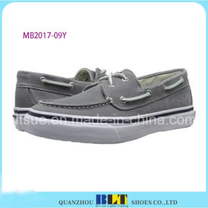 New Product Soft Outsole Leather Boat Shoes pictures & photos