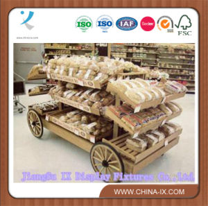 Wooden Display Stand /Rack for Food Putting pictures & photos
