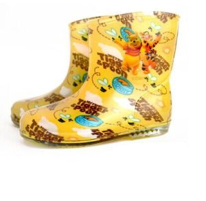 New Design Fancy Style Girl Kids Shoes, PVC Rainboots