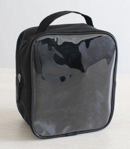 Cheap Transparent PVC Zipper Bag with Handle pictures & photos