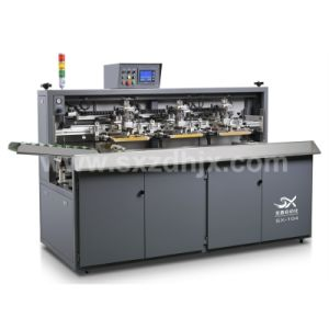 Automatic Multicolor Glass Wine Liqour Bottle Screen Printing Machine Pigmented Glaze Ink pictures & photos