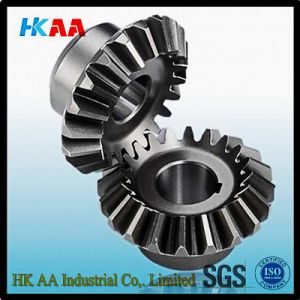 Custom Machining Helical Bevel Gear, Mini Steel Helical Bevel Gear pictures & photos