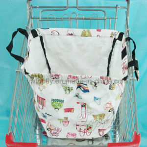 Supermarket Grocery Cart Bag Use for Promotional or Shopping pictures & photos