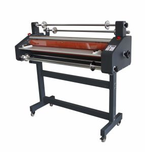 professional Hot and Cold Roll Laminating Machine 41inch 1050mm (FM-1100) pictures & photos
