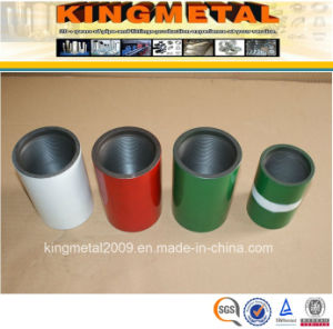 K55/J55 Seamless Casing and Tubing Coupling for Oil and Gas pictures & photos