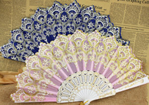 Summer Gift Decorative Lace Hand Fan pictures & photos