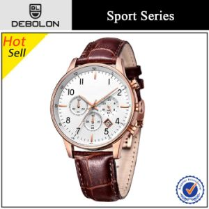 Business Stainless Steel Chronograph Watch Brands Chinese