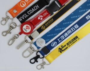 ID Card Holder Lanyard with Customer Logo Printing pictures & photos