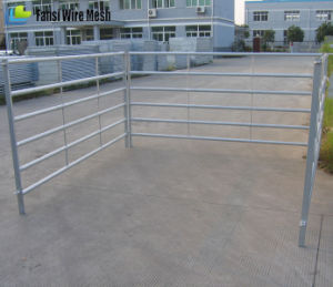 Portable Galvanized Sheep Pipe Corral Fence Panels pictures & photos