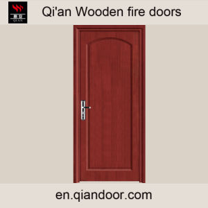 Black Walnut Wood Fire-Rated Door with Perlite Board pictures & photos