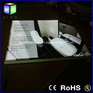 Acrylic LED Backlit Advertising Light Box pictures & photos