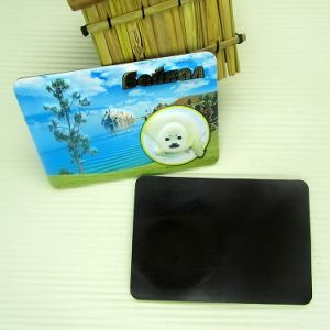 3D Custom Decoration Sticker Printing Souvenir PVC with Soft Magnet Fridge
