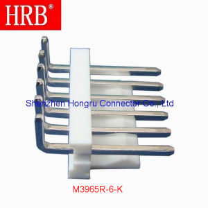 6 Position Right Angle Header Connector with Wire to Board pictures & photos