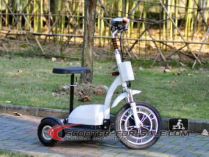 Classic 3 Wheel Easy Rider Electric Mini Scooter with Child Seat and Children Handbar Scooter Es5013 on Sale pictures & photos